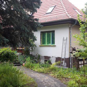 Vorher: Renovierung der Außenfassade