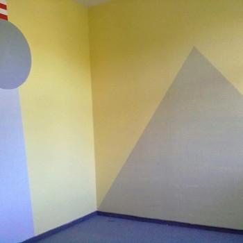 Neuer Anstrich für den Kindergarten in Fredersdorf