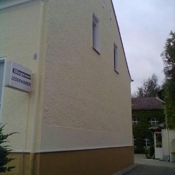 Sanierung der Fassade von Lederwaren Wegner